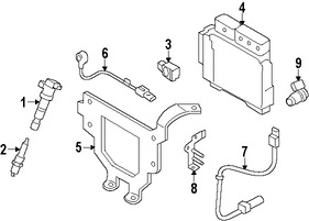 emision  sensores  reles y switches para hyundai accent 2012