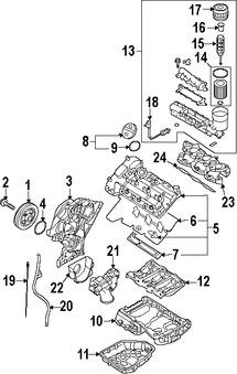 Bomba de Aceite, Vacio para Hyundai Sonata 2008