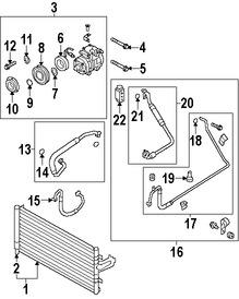 Interruptor de Lado de presión alta Aire Acondicionado