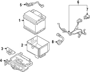 Repuestos y Accesorios para autos Kia Forte
