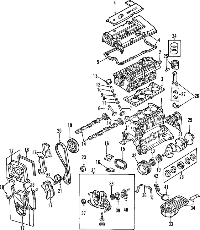 Seguidor del árbol de levas Original para Hyundai Kia