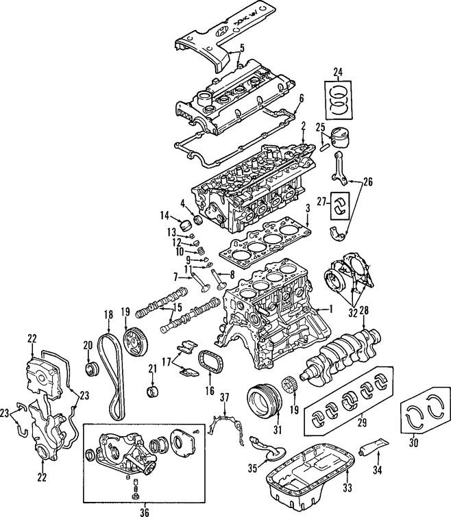 Culata del motor Original para Hyundai Tucson Hyundai