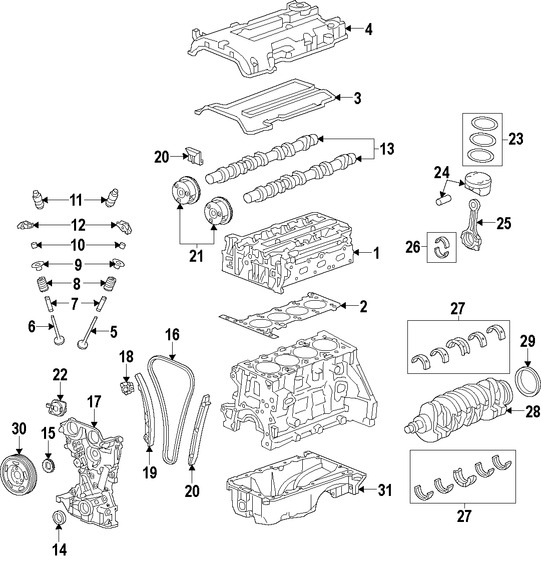 Repuestos para Hyundai Elantra 2015