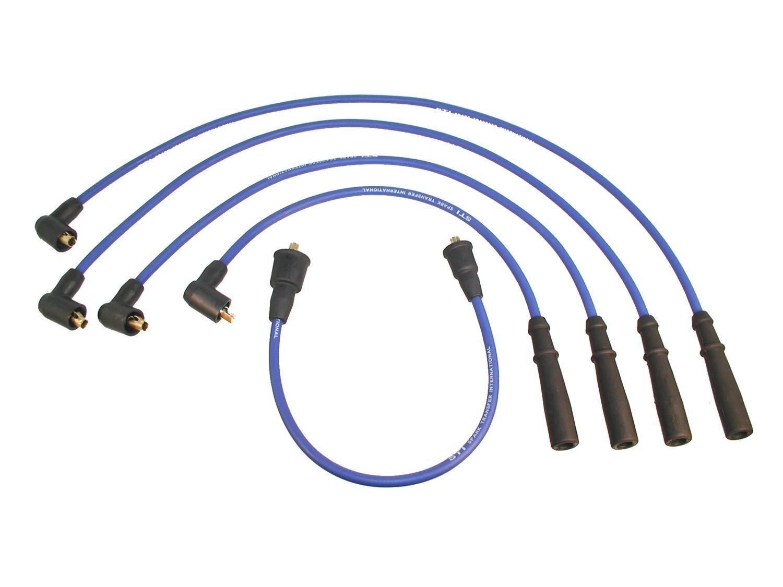Imagen de Juego de cables de bujía para Ford Festiva 1989 Marca KARLYN/STI Número de Parte 347