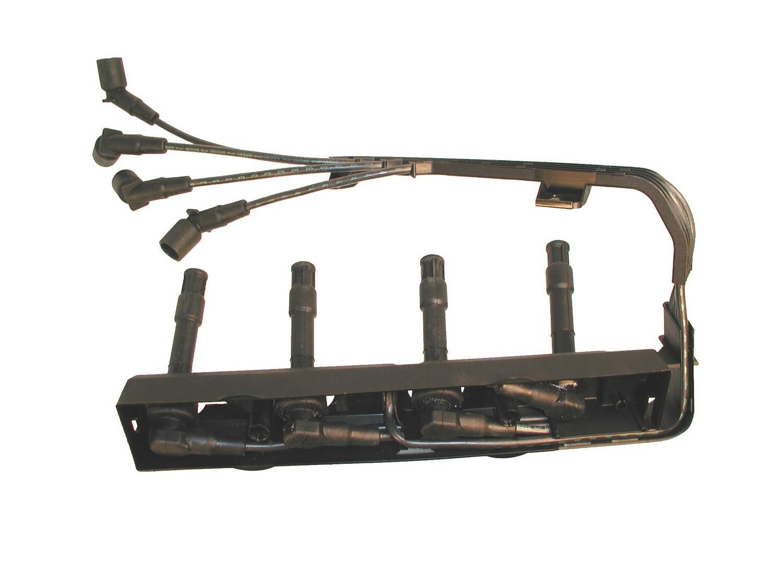 Imagen de Juego de cables de bujía para BMW 318ti 1995 Marca KARLYN/STI Número de Parte 491W/LOOM