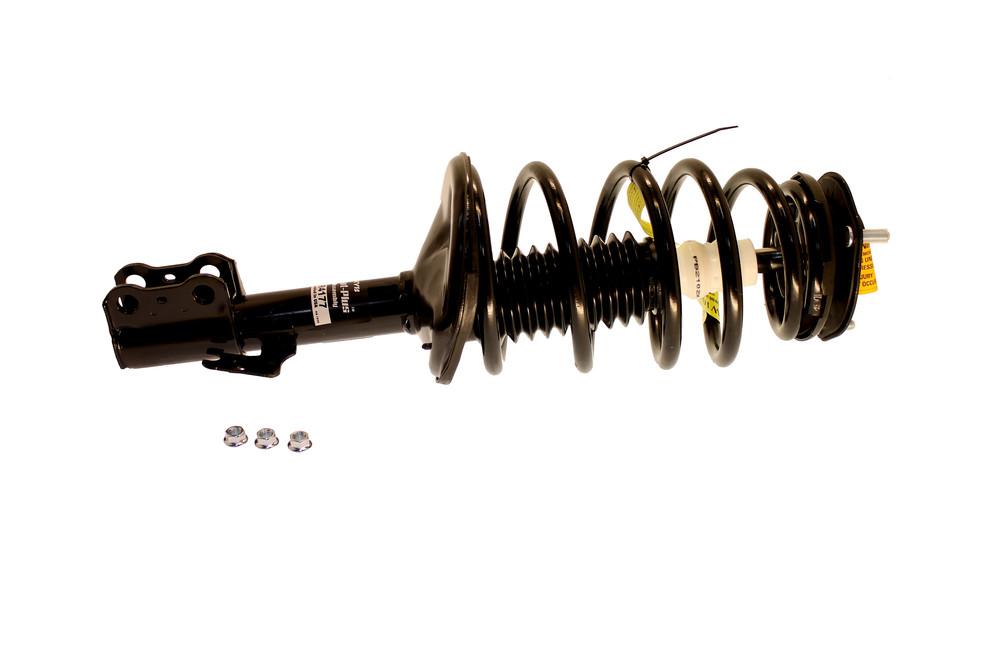 Imagen de Conjunto de Puntal de Suspensión y Resorte Espiral Strut-plus para Toyota Sienna 2004 2005 2006 Marca KYB Número de Parte #SR4177