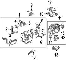 Imagen de Filtro de aire de Cabina / Polen Original para Toyota FJ Cruiser 2011 2012 2013 2014 Marca LEXUS Número de Parte 8713933010