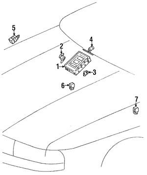 Imagen de Módulo de control de ABS Original para Lexus LS400 1990 1991 1992 Marca LEXUS Número de Parte 8954150031