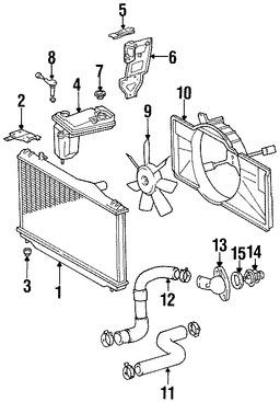 Imagen de Sensor de Nivel de Refrigerante Original para Lexus SC400 1992 1993 1994 Marca LEXUS Número de Parte 1648550021