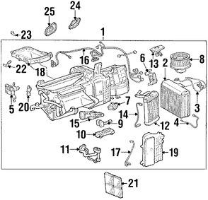 Imagen de Válvula de Expansión Aire Acondicionado Original para Lexus SC400 1992 1993 Lexus SC300 1992 1993 Marca LEXUS Número de Parte 8851530333
