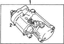 Imagen de Motor de arranque Original para Lexus SC300 1992 1993 1994 Marca LEXUS Remanufacturado Número de Parte 281004610084