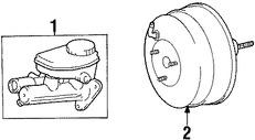 Imagen de Reforzador de Frenos Original para Lexus SC300 1992 1993 1994 Marca LEXUS Número de Parte 4461024070