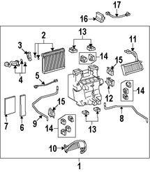 Imagen de Modulo de Control calefacción, ventilación y aire acondicionado Original para Lexus LS460 2007 2008 Marca LEXUS Número de Parte 8865050555
