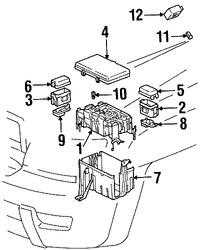 Caja de Fusibles Original para Toyota 4Runner Toyota FJ