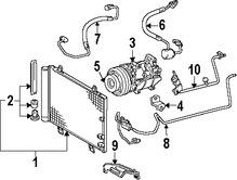 Imagen de Manguera de Refrigerante Aire Acondicionado Original para Lexus GS430 2006 2007 Marca LEXUS Número de Parte 8871230170