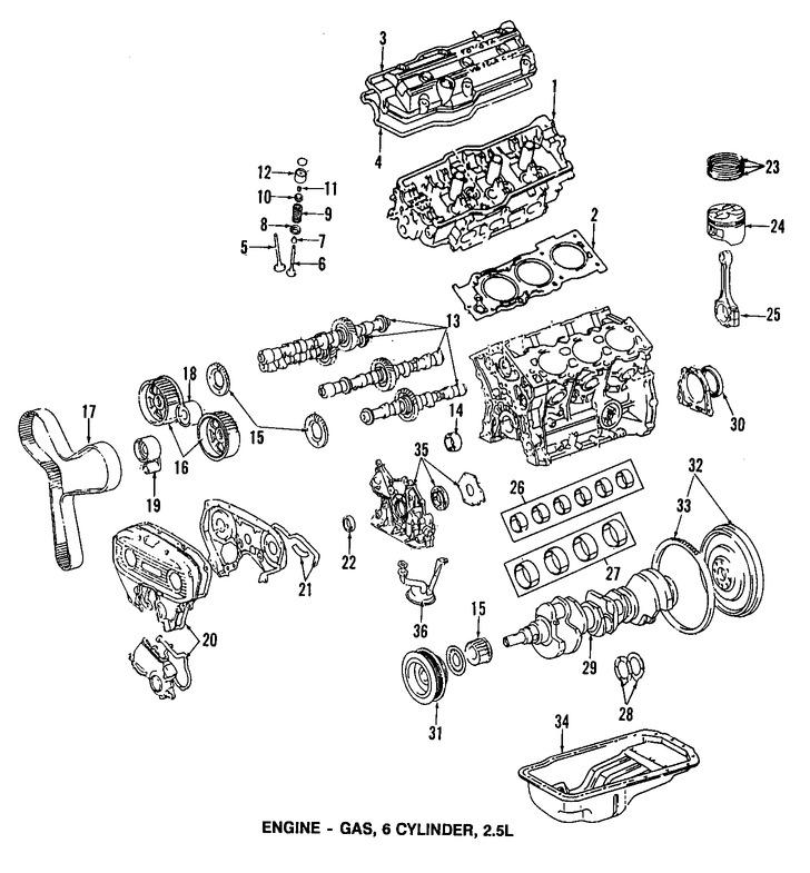 Imagen de Juego de Empacadura de la culata Original para Toyota Camry 1991 Lexus ES250 1990 Marca LEXUS Número de Parte 0411262021
