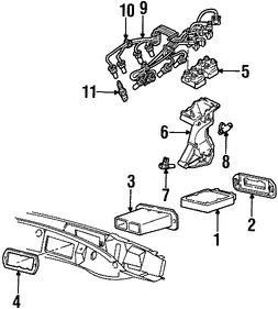 Sensor de posición del árbol de levas Original para Mazda