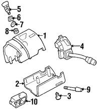 Imagen de Interruptor de encendido Original para Mazda B2300 2008 2009 Mazda B4000 2008 2009 Marca MAZDA Número de Parte 1FAA66123