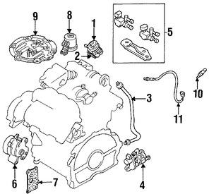 Imagen de Canister Original para Mazda Millenia 1995 1996 Marca MAZDA Número de Parte KJ0113970B