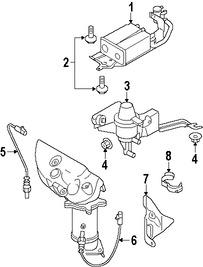 Imagen de Sensor de oxigeno Original para Mazda CX-9 2007 2008 2009 2010 Marca MAZDA Número de Parte CY0118861