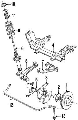 Imagen de Rotor del Disco de freno Original para Mazda Miata 1990 1991 1992 1993 Marca MAZDA Número de Parte B25Y3325XB