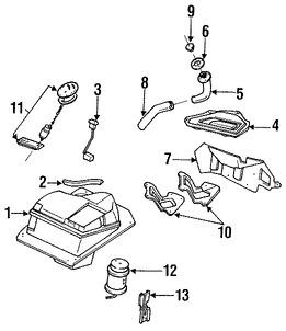 Imagen de Bomba de combustible Original para Mazda Miata 1991 1992 1993 Marca MAZDA Número de Parte B61P13350B