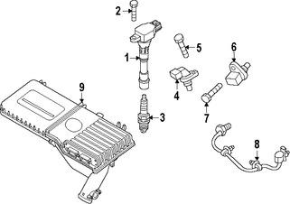 Imagen de Bujía Original para Mazda 2 2011 2012 2013 2014 Marca MAZDA Número de Parte Z6B718110