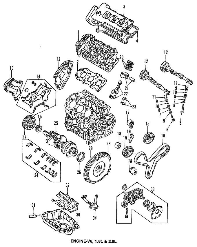 Imagen de Empacadura de la culata Original para Mazda MX-3 1993 1992 1994 Marca MAZDA Número de Parte K80110272B