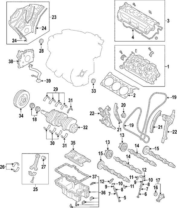 Mazda 6 Motor Diagram