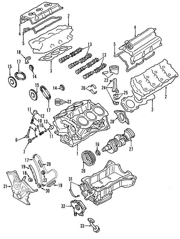 Tensor de la Cadena del Tiempo Original para Mazda CX-9