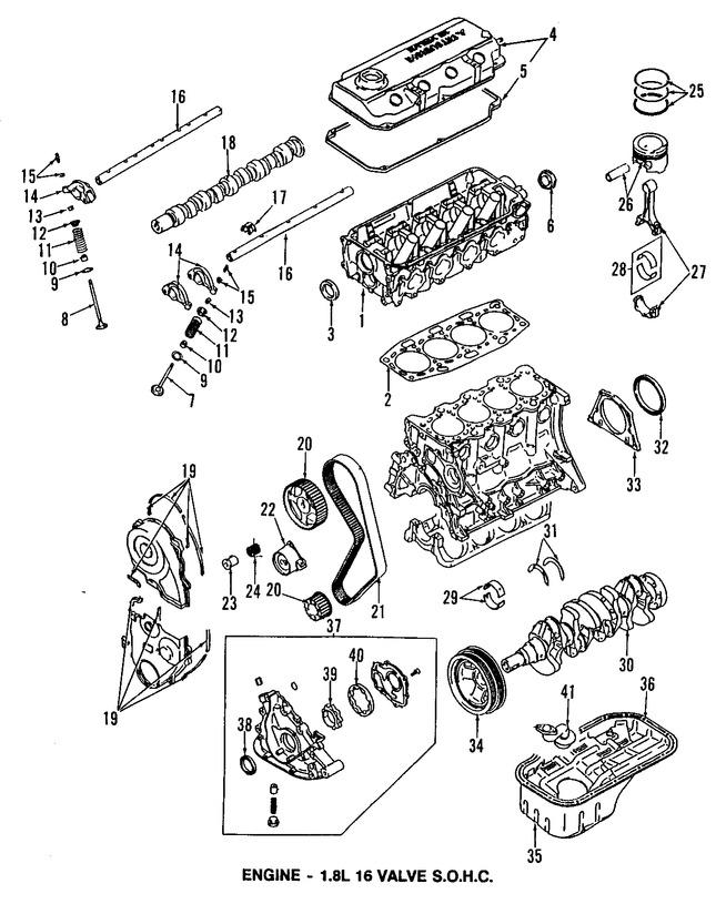 Válvula de Escape del Motor Original para Dodge Colt Eagle