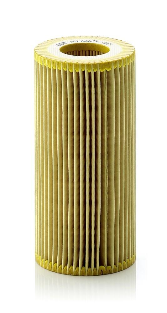 Imagen de Filtro de aceite del Motor para Maybach Mercedes-Benz Marca MANN-FILTER Número de Parte HU 721/3 X
