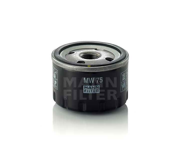 Imagen de Filtro de aceite del Motor para BMW i3 2015 Marca MANN-FILTER Número de Parte MW 75