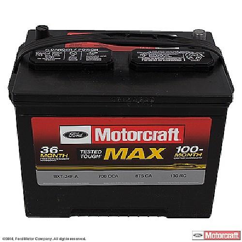 Imagen de Batería para Hyundai Elantra 1997 1998 Marca MOTORCRAFT Tested Tough Max Número de Parte #BXT-24FA