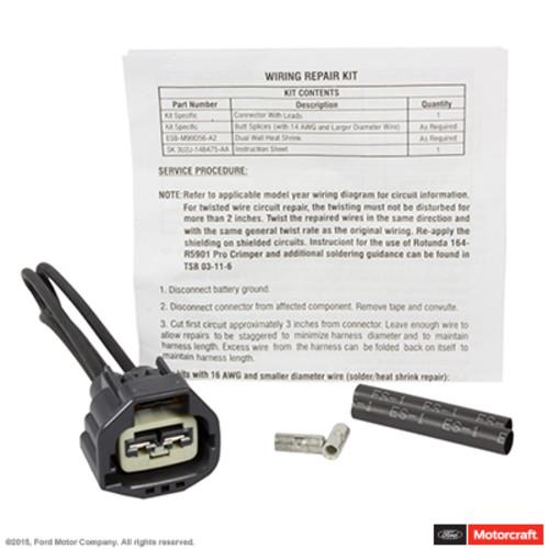Imagen de Refrigerante del motor Conector del ventilador del para Ford Escape 2012 Marca MOTORCRAFT Número de Parte WPT-778