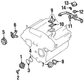 Kit de Termostato de Refrigerante del Motor Original para