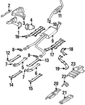 silenciador original para nissan pathfinder 1996 1997 1998 1999 1997 Nissan Pathfinder Custom silenciador original para nissan pathfinder 1996 1997 1998 1999 marca nissan n mero de parte 203500w005