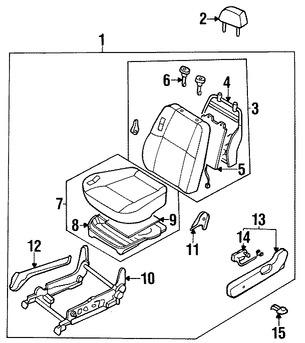 interruptor asiento el ctrico original para infiniti qx4 1997 1998 2009 Nissan Pathfinder interruptor asiento el ctrico original para infiniti qx4 1997 1998 1999 nissan pathfinder 1996 1997 marca nissan n mero de parte 870660w020