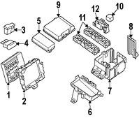 Caja de Fusibles Original para Infiniti Nissan Marca