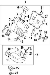 Repuestos y Accesorios para autos Nissan Xterra