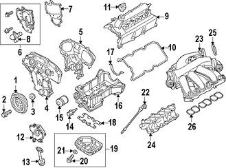 Correas, Tensores y Poleas para Nissan Sentra 2002