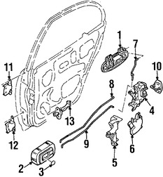 Repuestos para Nissan Altima 2004