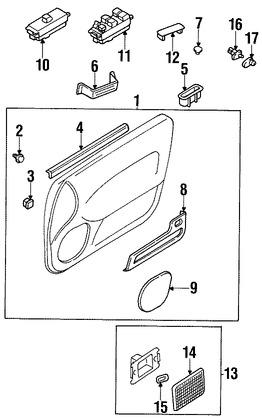 Puertas, Ventanas y Puertas Traseras para Nissan 200SX 1995