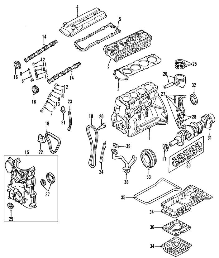 Correas, Tensores y Poleas para Nissan Sentra 2006