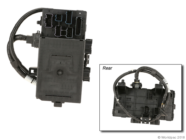 Foto de Caja de Fusibles para Ford Expedition 2003 2004 Marca Genuine Número de Parte W0133-2192343