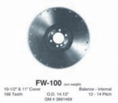 Imagen de Volante del Embrague para Chevrolet C10 Pickup 1971 Marca PIONEER INC. Número de Parte FW-100