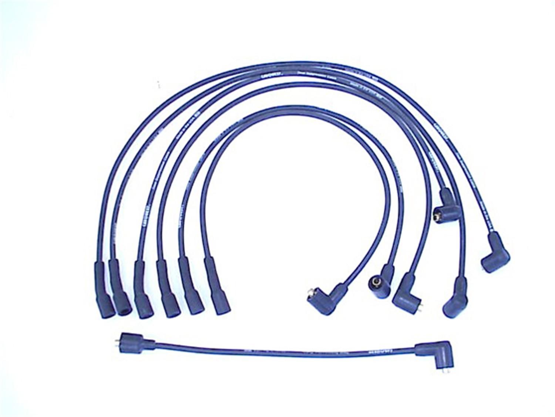 Imagen de Juego de cables de bujía para Jeep DJ5 1967 Marca PRESTOLITE PROCONNECT Número de Parte 116069