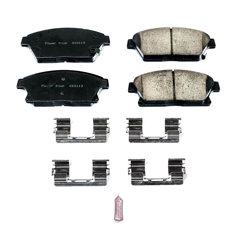 Imagen de Kit de pastillas y discos de freno  Z17 Evolution Plus para Chevrolet Cruze 2015 Chevrolet Volt 2015 Marca POWER STOP Número de Parte 17-1467