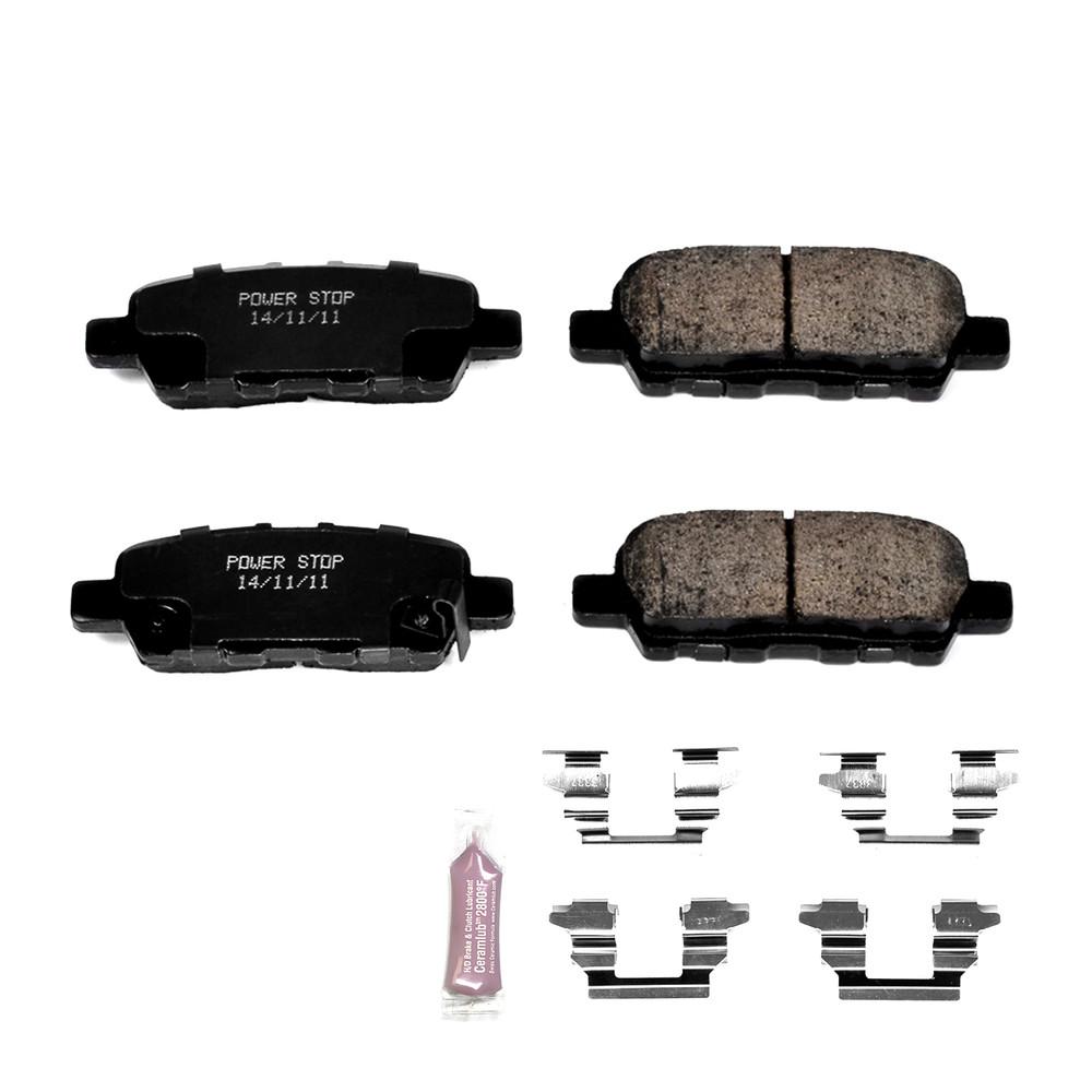 Imagen de Pastillas de Freno Fibra de Carbon / Cerámica con Kit de Armado Evolution Sport Z23 para Nissan Infiniti Marca POWER STOP Número de Parte Z23-1393
