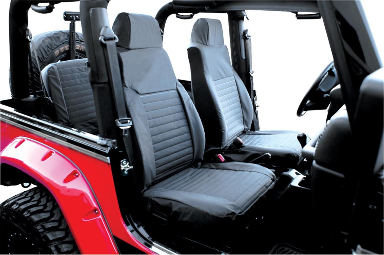 Imagen de Cubierta de asiento para Jeep Wrangler 2000 Marca RAMPAGE PRODUCTS Número de Parte 5087415